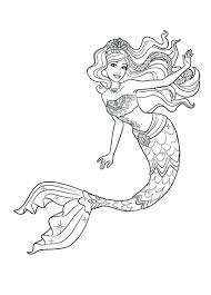 Beautiful Mermaid Coloring Pages beautiful mermaid coloring pages printable free print murs