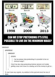 Funny Memes Tumblr - even with adjust for inflation the cost for food and basic