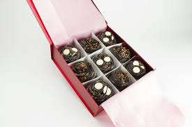 fudge gift boxes chocolate buttons and fudge boxed