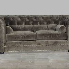 Grey Leather Tufted Sofa Furniture Grey Leather Button Tufted Sofa For Amazing Living Room