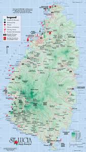 Caribbean Maps by 37 Best Travel Caribbean St Lucia Images On Pinterest