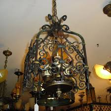 Entry Chandelier Lighting Spanish Revival 3 Light Entryway Chandelier From