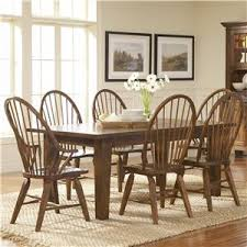 attic heirlooms dining table broyhill furniture attic rustic 5pc dining room wayside furniture