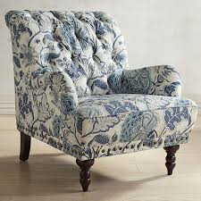 Chair Charming Blue Accent Chairs For Living Room Home Design By - Floral accent chairs living room