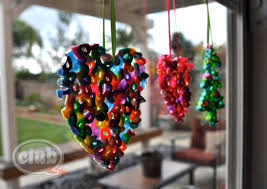 melted bead ornaments diy club chica circle where crafty is