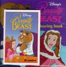beauty beast disney book film colouring book