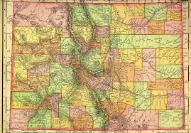 Creede Colorado Map by Colorado State Publications Library June 2011