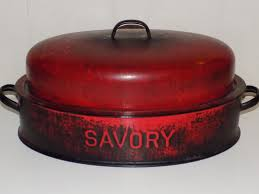 savory roaster savory wall enamelware roasting pan roaster