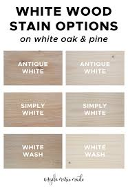 can you stain pine cabinets 3 white wood stain options angela made