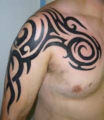 men shoulder tribal tattoo ideas tattoo design and art
