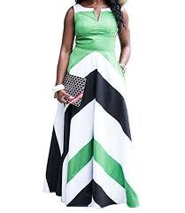 shekiss women u0027s casual bodycon long party stripes maxi dress