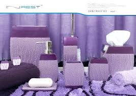 purple bathroom sets purple bathroom accessories sets engem me