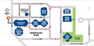 Hong Kong Mtr Map On View Hong Kong Visit