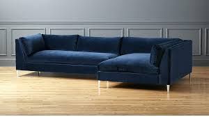 blue sectional sofa with chaise royal blue sectional mid century modern blue velvet sectional sofa