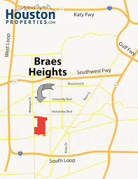 Real Estate Map 4 Intriguing Braes Heights Houston Real Estate Trends