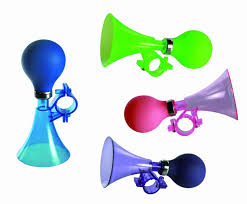 loud bicycle accessory blue bike horn boys boy children kids