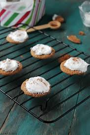 ginger snap cookies with lemon cream cheese frosting diethood