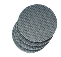 Non Slip Rug Pads For Laminate Floors Invisihold Non Slip Round Furniture Gripper Rug Pads For Less