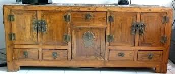 meuble de cuisine en bois massif meuble cuisine bois buffet bois brut buffet bas bois massif