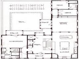 house plans and more floor plan back shaped house modern plans more lots houses