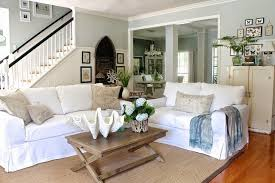 modern farmhouse colors farmhouse living room paint colors french country ideas style sofa