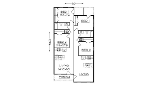 duplex floor plans for narrow lots 28 photos and inspiration narrow lot floor plan house plans 51267