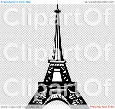 background clipart eiffel tower pencil and in color background