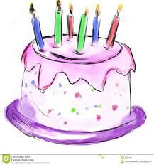 cake for birthday cake for birthday stock photo image 2286440