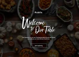publix thanksgiving awwwards nominee