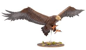 tutorial how to paint great eagles from the hobbit tale of painters