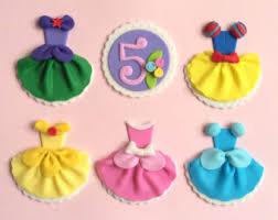cinderella cupcake toppers disney princess dress party ariel snow white cinderella