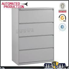 Horizontal Storage Cabinet Horizontal 4 Drawer Metal Locking Cabinet 4 Tier Lateral File