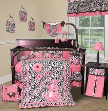 Pink Cheetah Crib Bedding Baby Room Fascinating Picture Of Baby Nursery Room