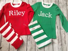 personalized christmas for kids personalized christmas pajamas for babies toddlers children