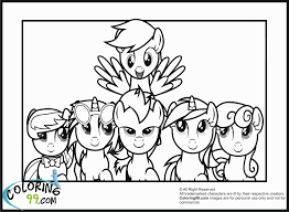 mlp coloring pages coloring home