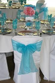 blue wedding reception table decorations mudroom basement