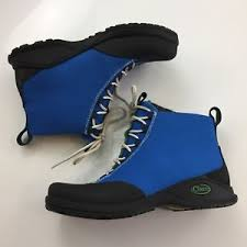 womens boots vibram sole chaco tabi ankle boots womens 7 5 blue canvas rubber vibram