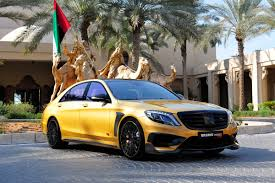 gold cars brabus rocket 900 desert gold edition debuts at dubai motor show