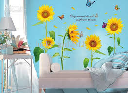 sunflowers decorations home sunflower decor for living room meliving 1a09f8cd30d3