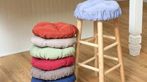bar stool seat cover round bar stool cushions dining room chair