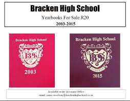 yearbooks for sale sale of year books bracken high school