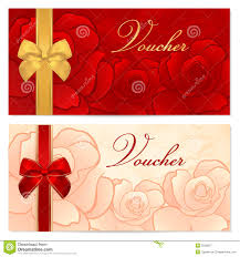 100 gift certificate design template free red gift card