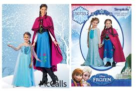simplicity halloween costume patterns elsa form frozen costume tutorial all the info to get started