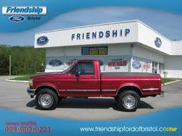 Ford F150 Truck 1995 - 1995 ford f150 xlt regular cab 4x4 in electric currant red pearl