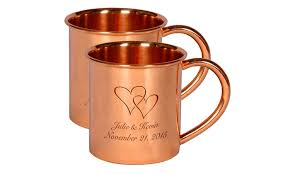 moscow mule mugs custom moscow mule mugs alchemade groupon