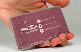 Print On Business Cards How To Make A Business Card With Social Networking Info