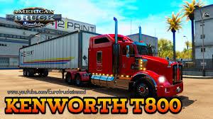 kenworth t800 parts kenworth t800 mod for american truck simulator ats