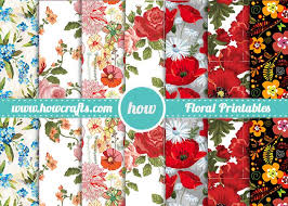 vintage floral wrapping paper howcrafts vintage floral wrapping paper howcrafts