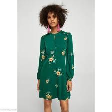 mango robes leti robe d été green femme robes de jour wexobpz2