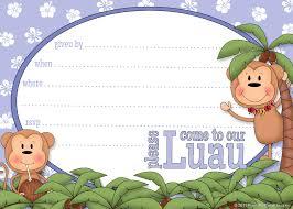 custom luau invitations free printable invitation design
